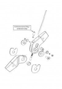 Extensionstop for the Mono Lock knee joint