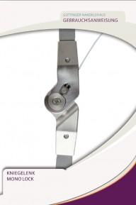 Gebrauchsanweisung Mono Lock Kniegelenk