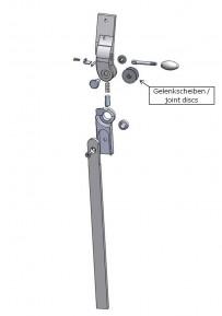Gelenkscheiben für das Salera 3-D Hüftgelenk