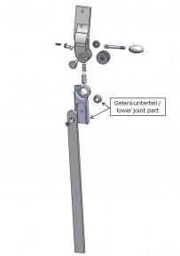 Gelenkunterteil für das Salera 3-D Hüftgelenk