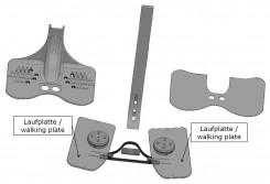 Laufplatte für den Go-LiTe